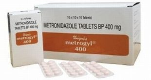 Metrogyl 400 mg Tablet- Uses, Side Effects, Dosage, Composition, Action, Precautions, Interactions
